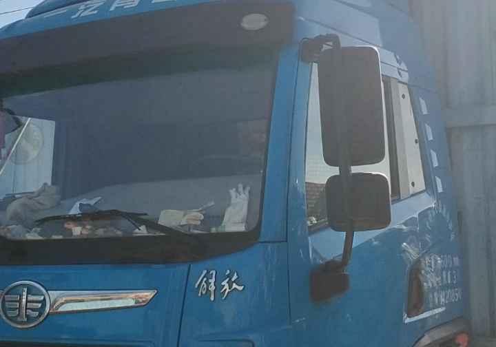 青岛解放龙V 载货车  180匹 2016年02月 4x2
