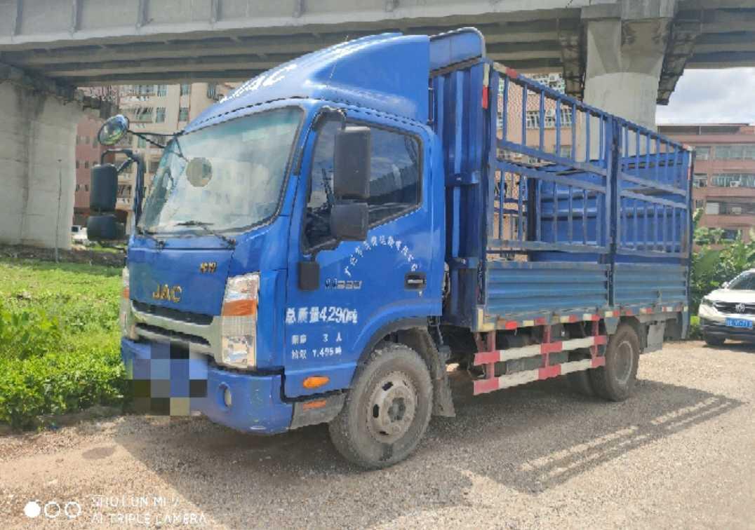 江淮格尔发K5L中卡 豪华型 载货车  105匹 2016年09月 4x2