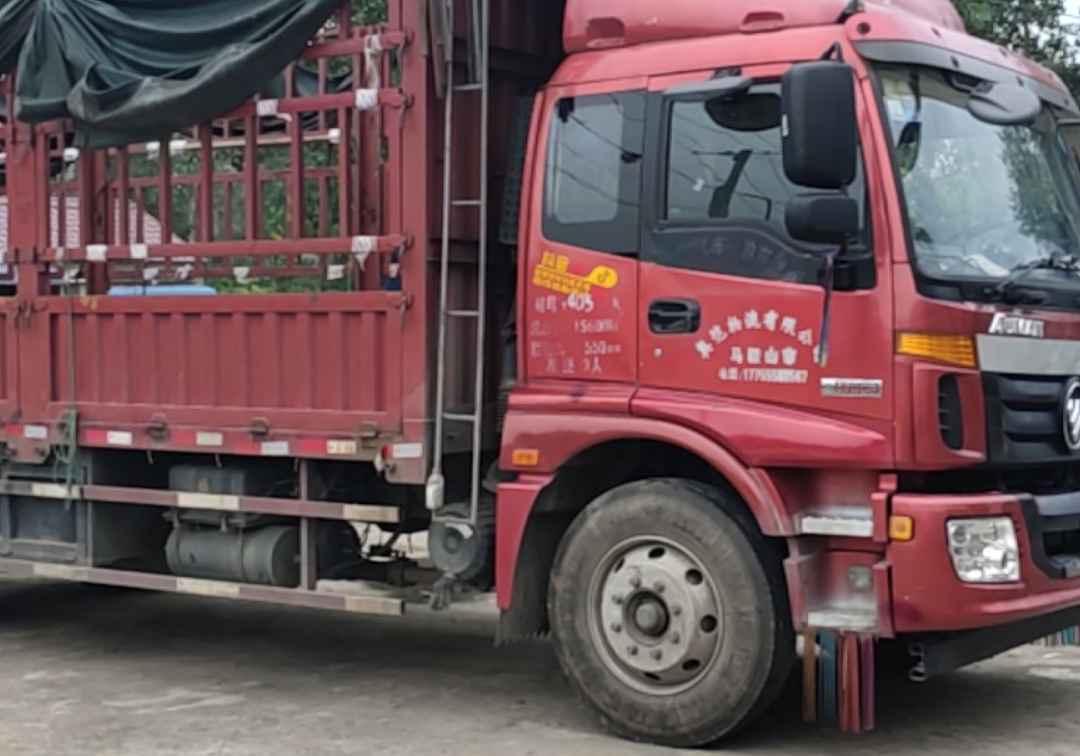福田欧曼ETX 载货车  170匹 2016年11月 4x2