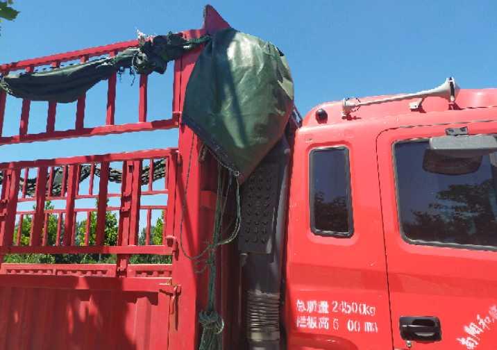 江淮格爾發K5L中卡 標載型 載貨車  220匹 2019年08月 4x2