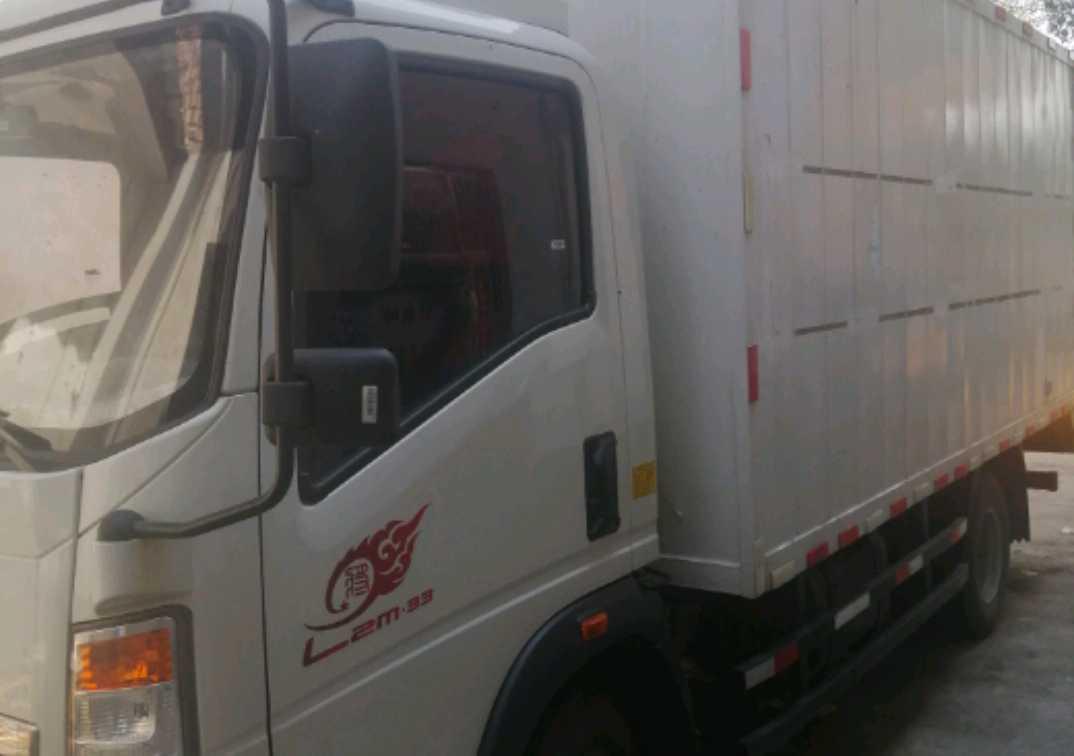 中国重汽悍将 载货车  95匹 2018年01月 4x2