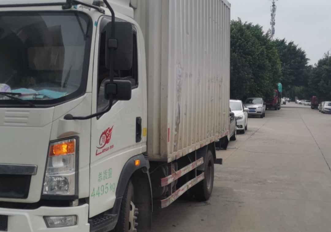中國重汽悍將 載貨車  160匹 2018年05月 4x2