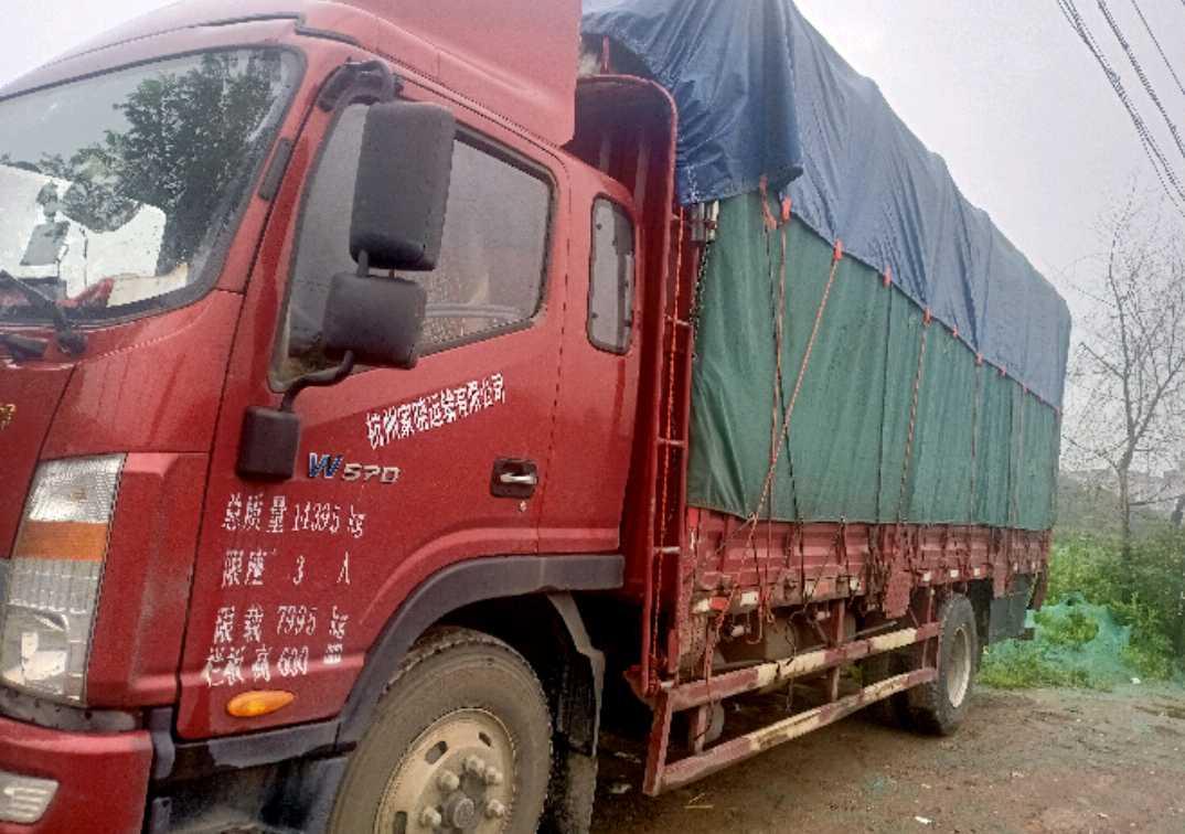江淮其他车系 载货车  160匹 2017年12月 6x2