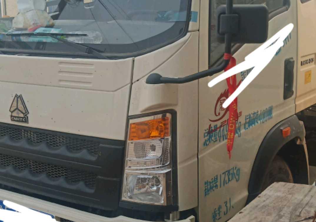 中国重汽HOWO 载货车  129匹 2020年08月 4x2