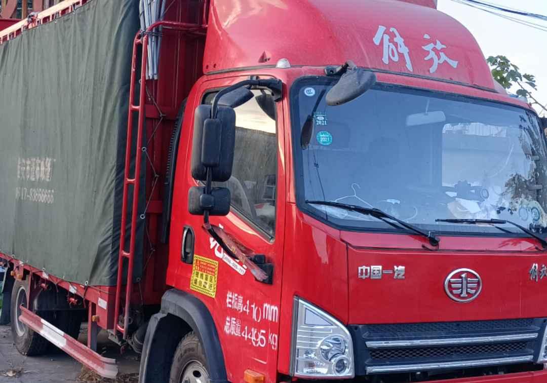 青岛解放其他车系 载货车  156匹 2020年10月 4x2