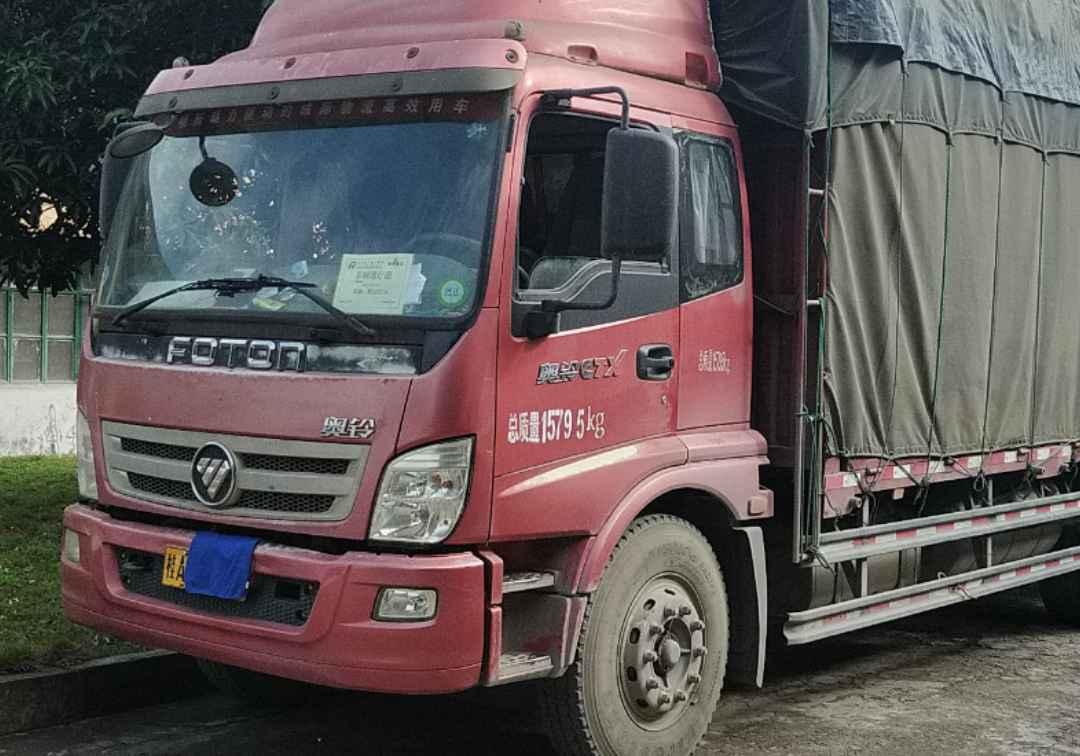 福田歐曼其他車系 載貨車  170匹 2014年08月 4x2