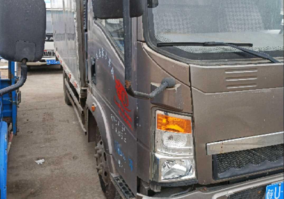 中国重汽HOWO 载货车  170匹 2014年08月 4x2