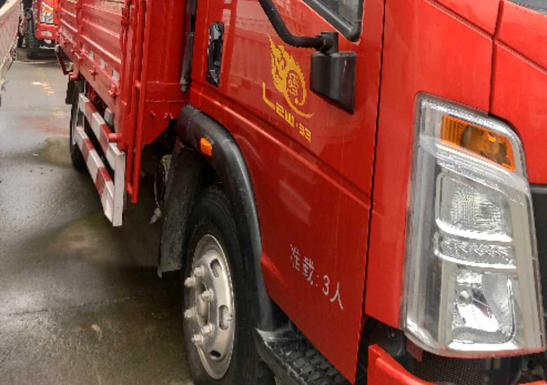 中国重汽HOWO 载货车  170匹 2019年02月 4x2