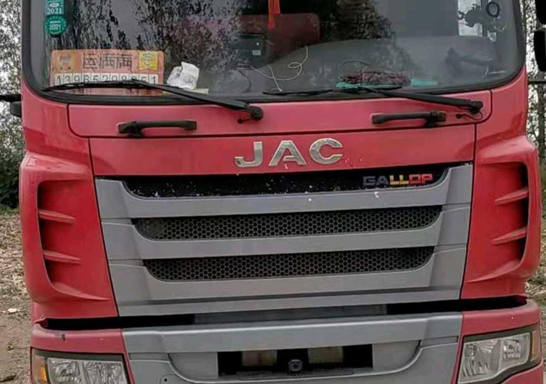 江淮格尔发K5L中卡 载货车  160匹 2016年08月 4x2