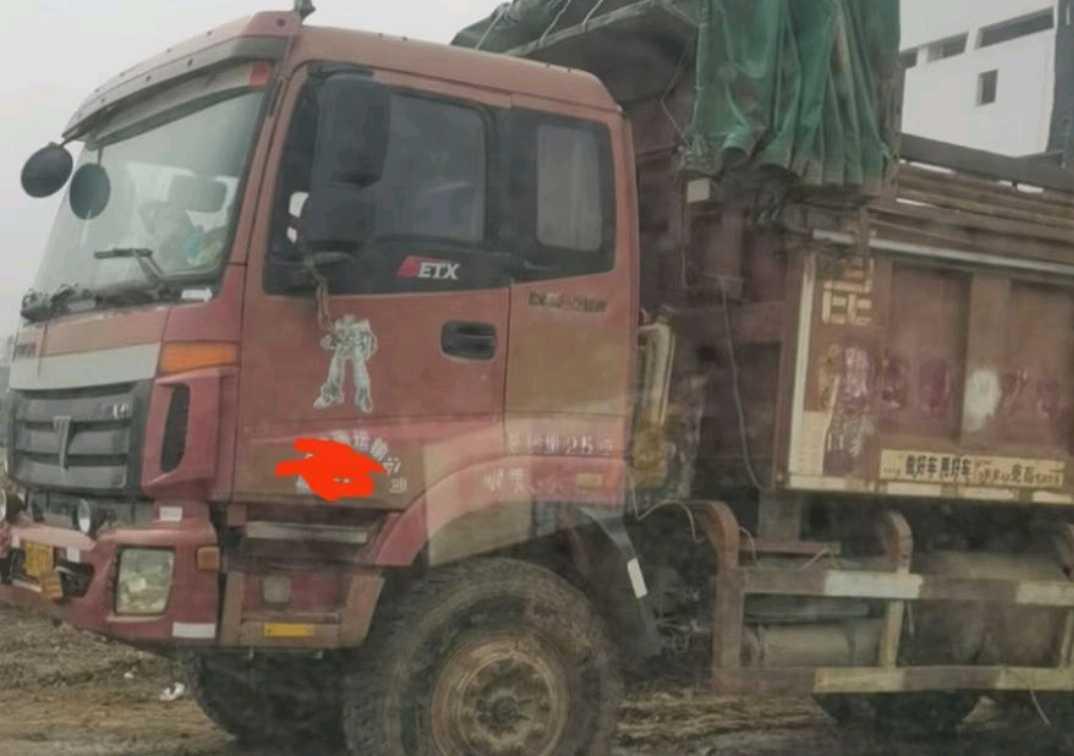 福田欧曼欧曼ETX 自卸车  310匹 2012年03月 8x2