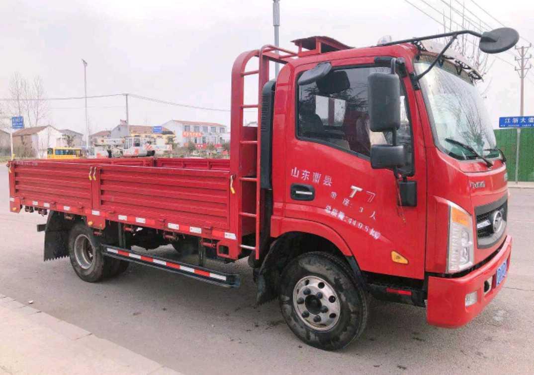 江淮格尔发 载货车  156匹 2020年05月 6x6