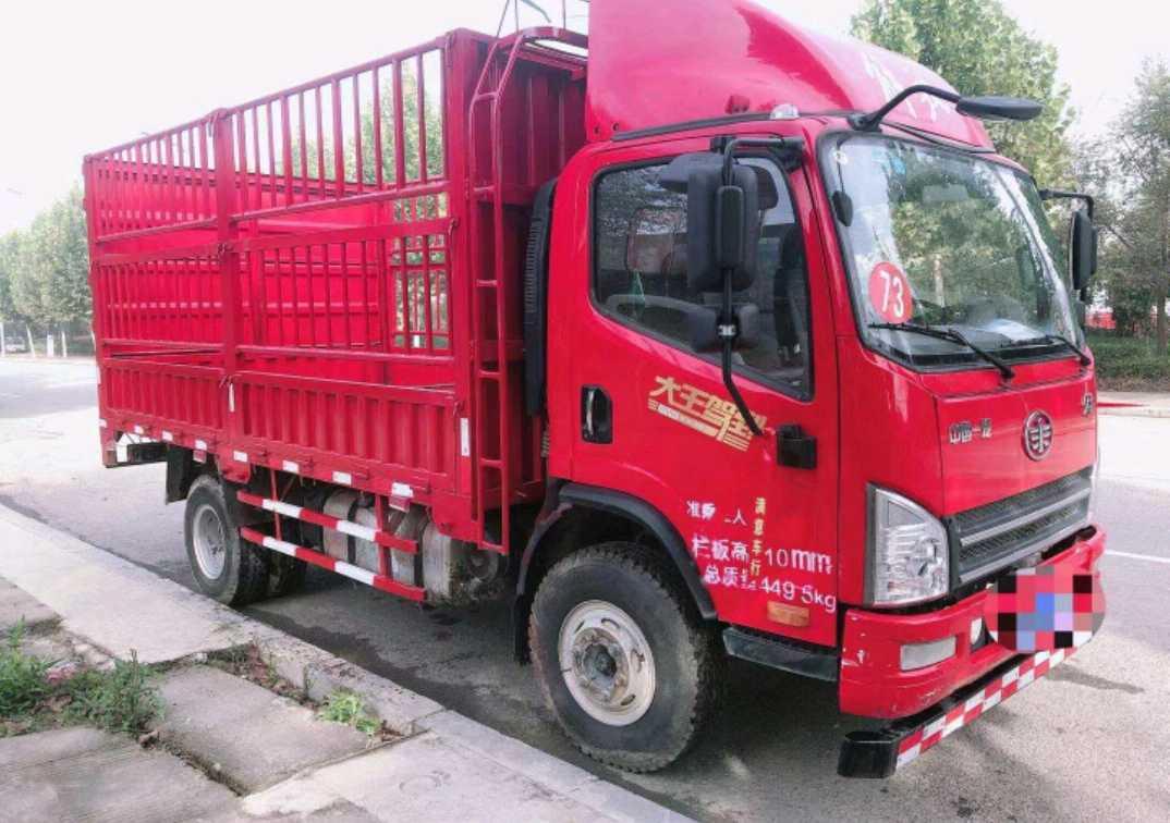 一汽解放J6M重卡 标载型 载货车  160匹 2019年03月 6x6