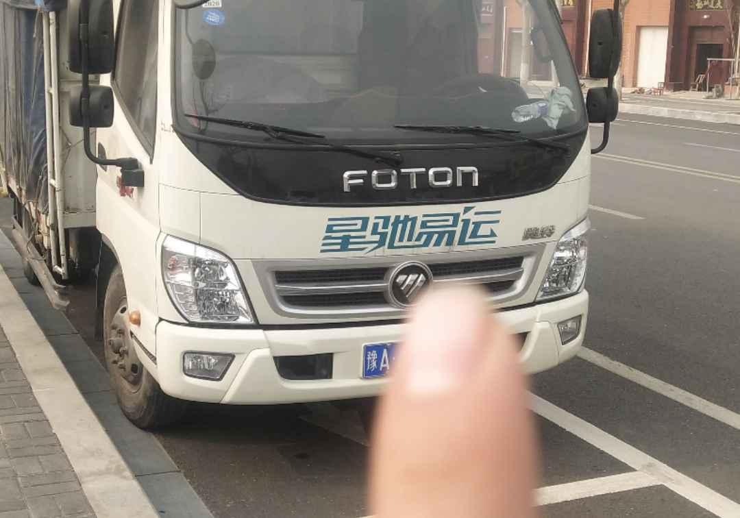 福田欧曼其他车系 载货车  143匹 2019年11月 4x2