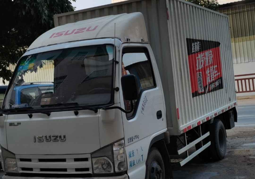 五十铃E系列 载货车  100匹 2014年04月 4x2