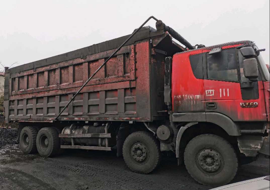 上汽红岩杰狮 自卸车  10匹 2012年02月 4x2