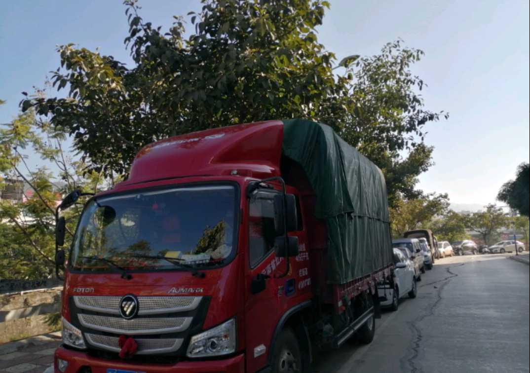 福田欧曼其他车系 载货车  170匹 2020年09月 4x2