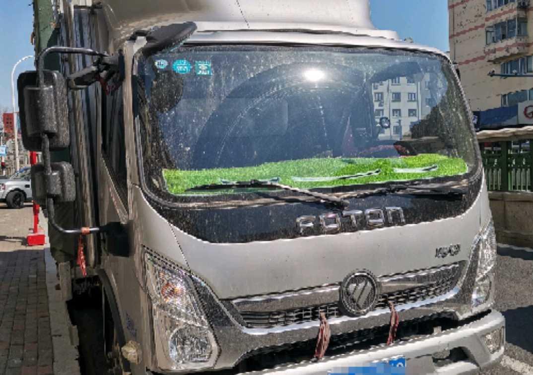 福田欧曼其他车系 载货车  156匹 2020年07月 8x4