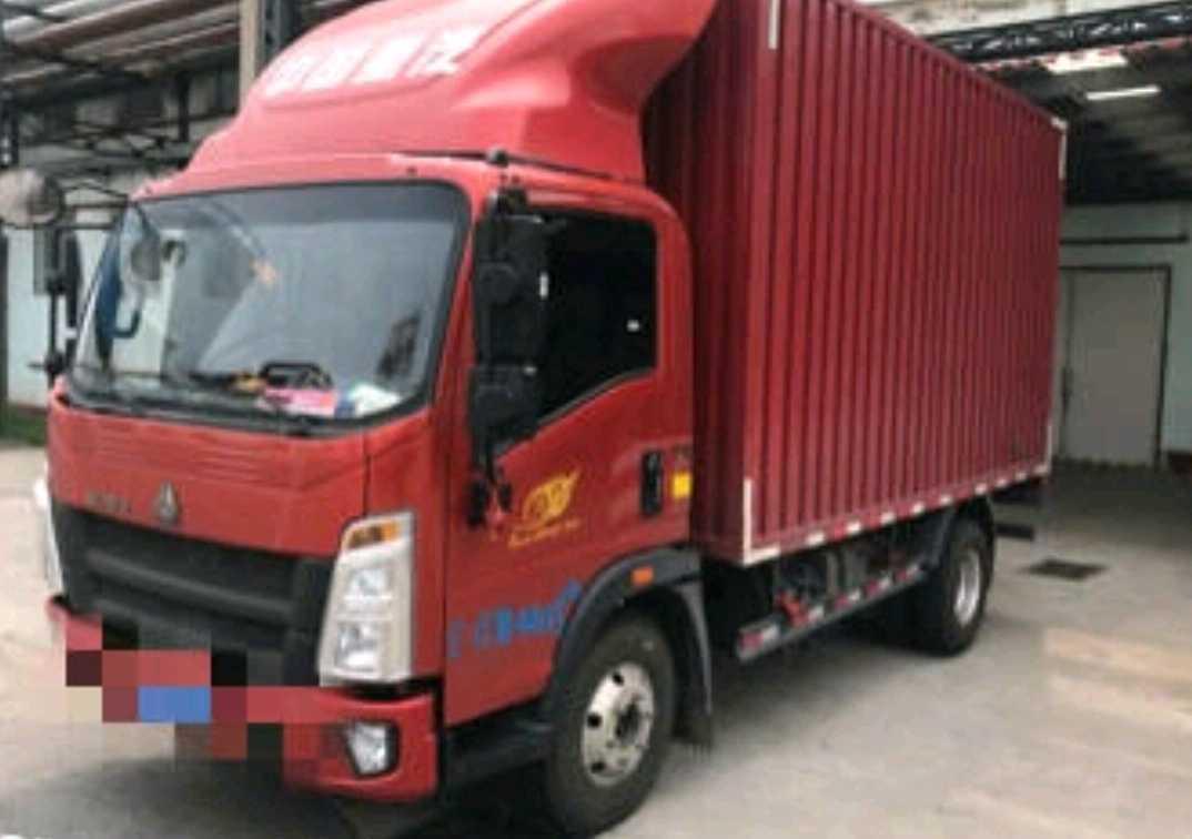 中国重汽HOWO 载货车  130匹 2021年05月 4x2