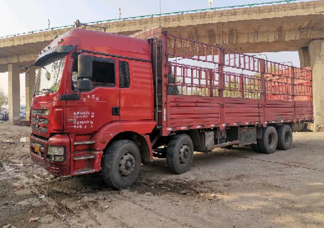 陕汽德龙新M3000 载货车  290匹 2015年06月 8x4