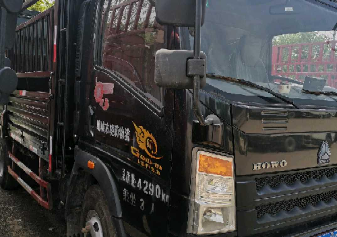 中国重汽HOWO 载货车  160匹 2017年12月 8x2