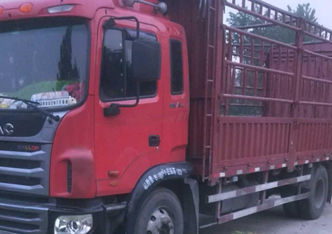 江淮格尔发A5L中卡 标载型 载货车  160匹 2015年10月 4x2