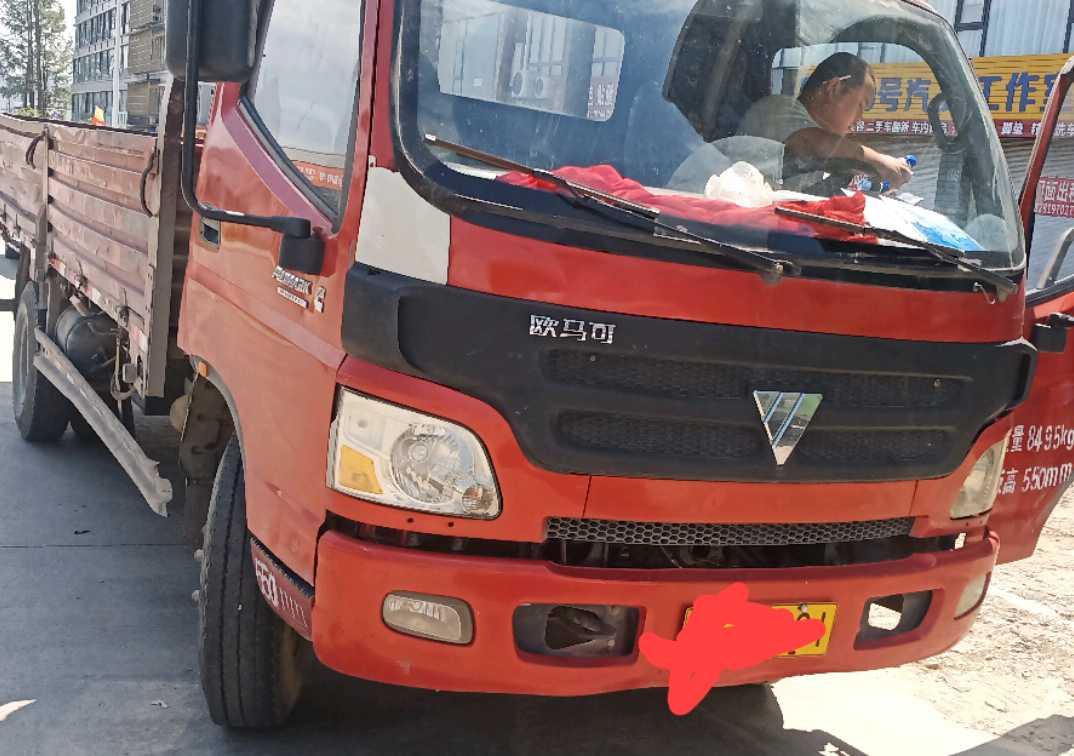 福田欧曼其他车系 载货车  156匹 2011年12月 4x2