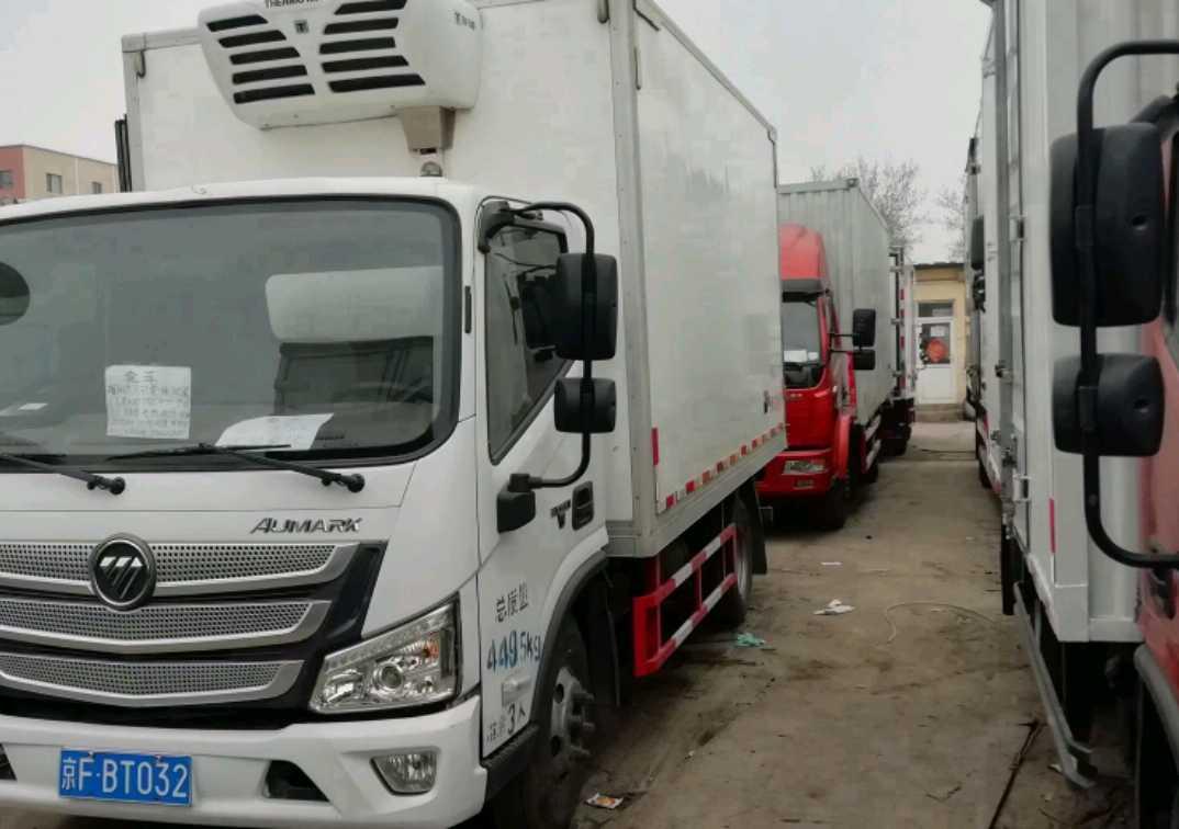北汽福田瑞沃 冷藏车  156匹 2018年05月 4x2
