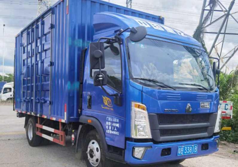 中国重汽悍将 载货车  156匹 2020年04月 4x2