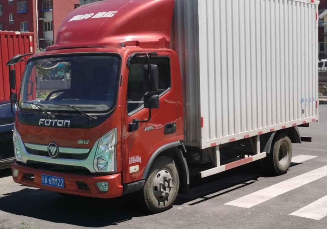 福田欧曼其他车系 载货车  156匹 2020年10月 4x2