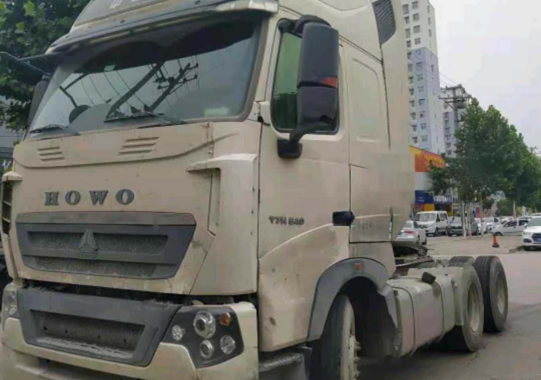 重汽豪沃(HOWO)HOWO T7H重卡 牵引车  540匹 2017年06月 6x4
