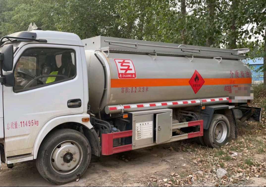 东风153系列 油罐车  150匹 2020年03月 4x2
