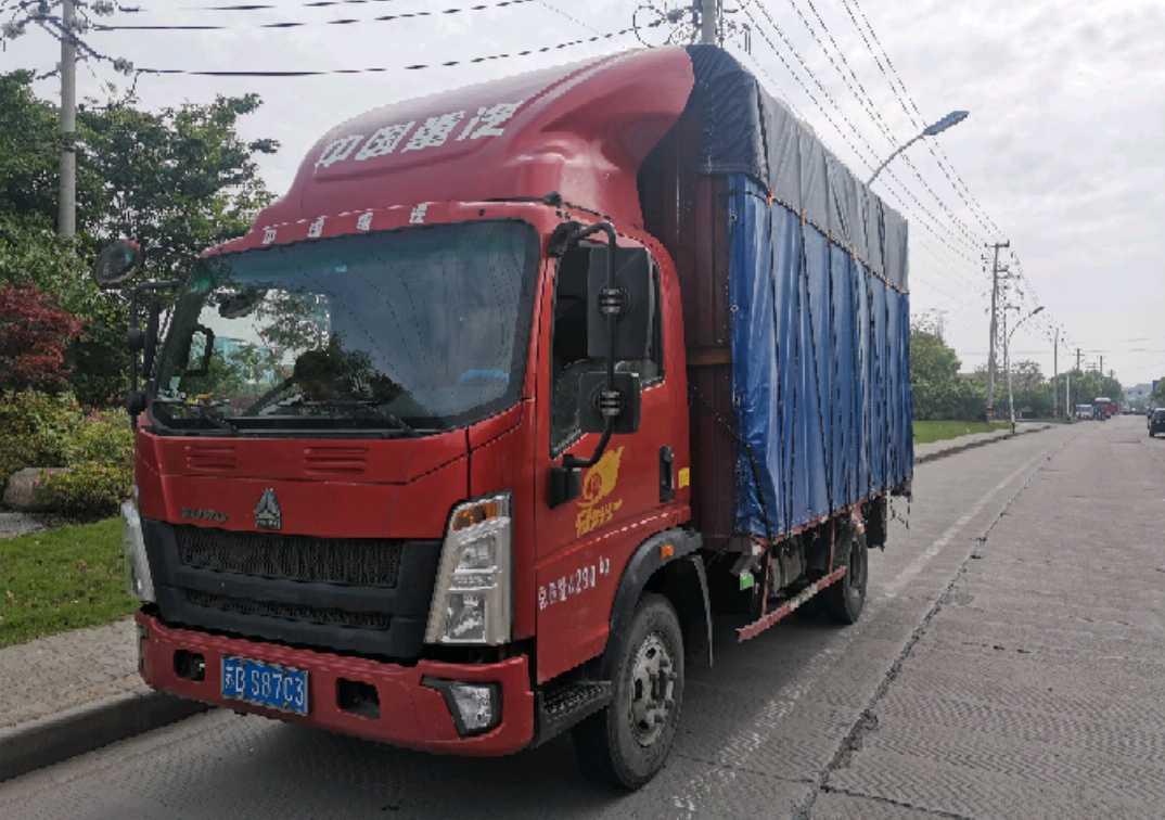 中国重汽统帅 载货车  148匹 2019年05月 4x2