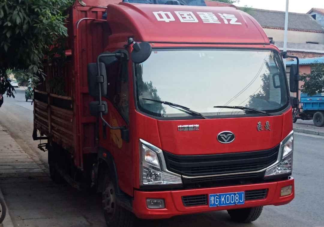 中国重汽豪曼 载货车  170匹 2020年06月 4x2