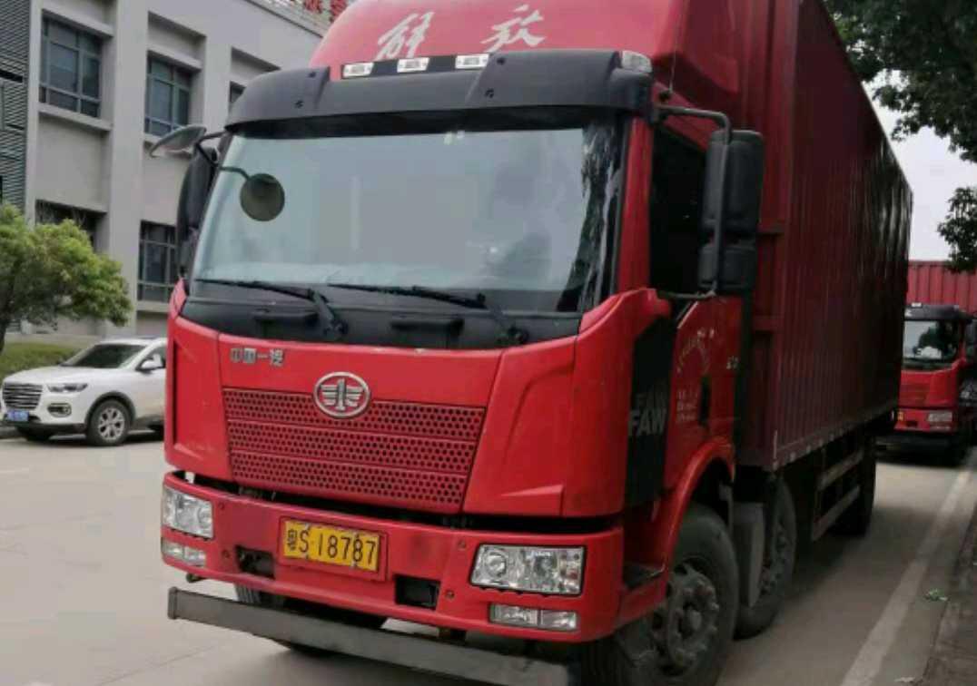 一汽解放J6 载货车  245匹 2018年11月 4x2