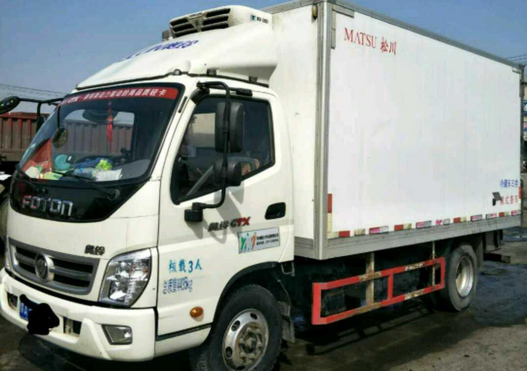福田欧曼其他车系 冷藏车  130匹 2018年03月 4x2