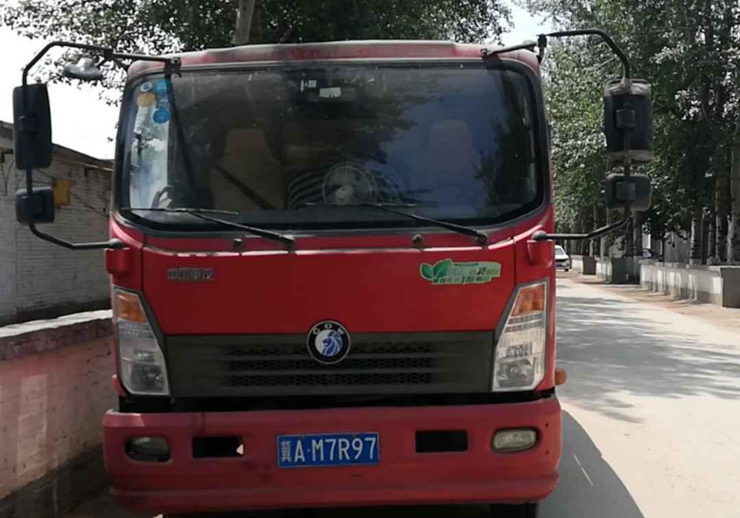 中国重汽王牌 载货车  140匹 2017年07月 4x2