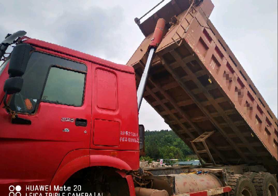 中国重汽其他车系 自卸车  336匹 2013年10月 8x2