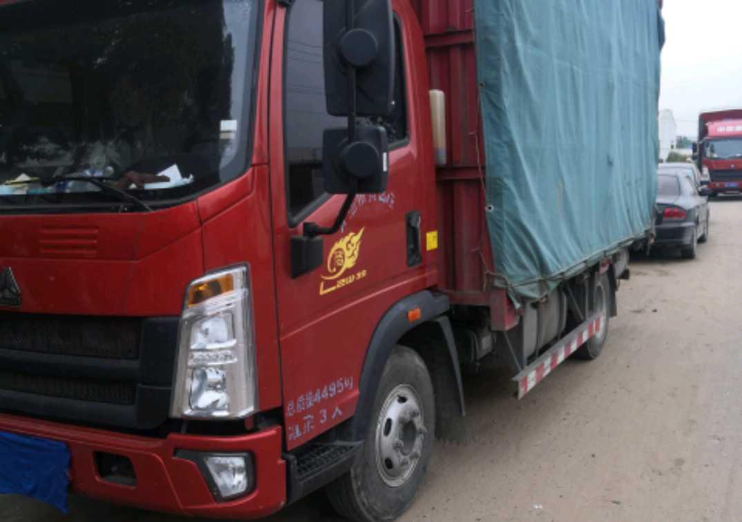 中国重汽悍将 载货车  156匹 2019年11月 4x2