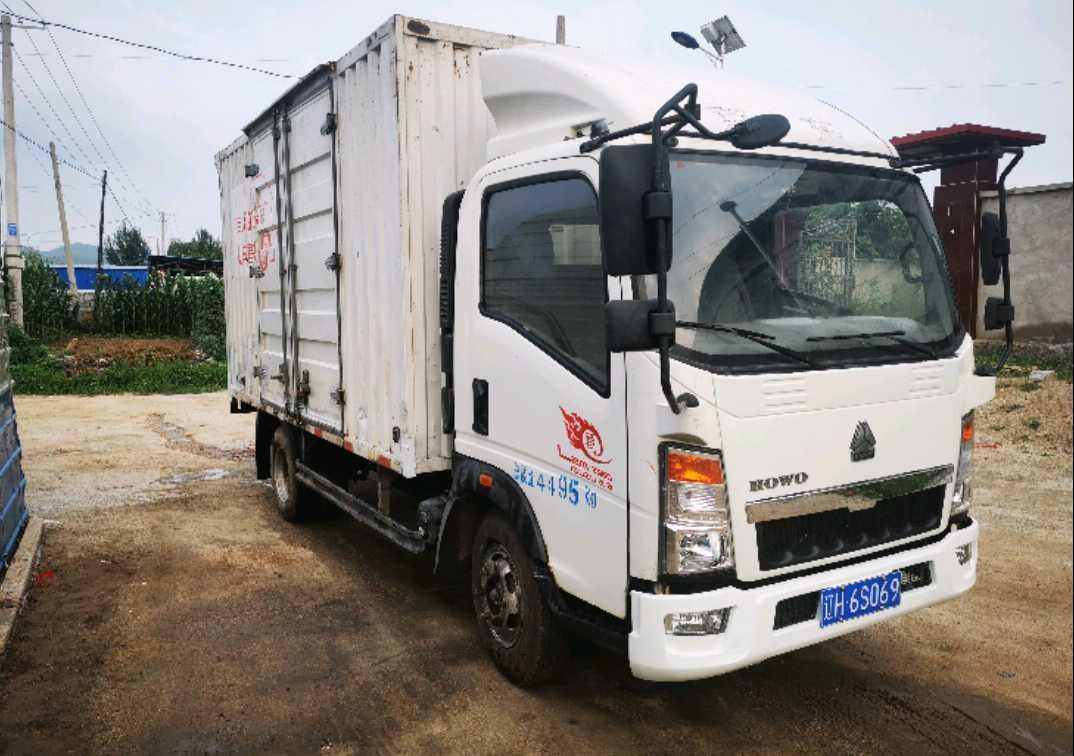 中国重汽HOWO 载货车  999匹 2015年05月 4x2
