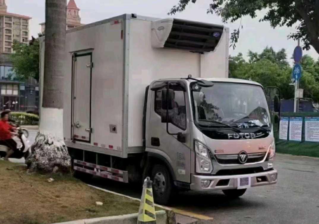 陕汽其他车系 冷藏车  151匹 2020年07月 4x2