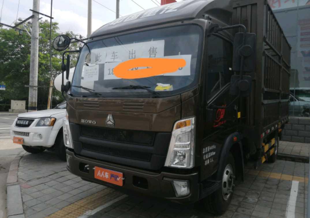 中国重汽HOWO 载货车  160匹 2020年08月 4x2