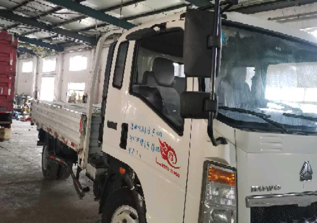 中国重汽HOWO 载货车  130匹 2016年07月 6x6
