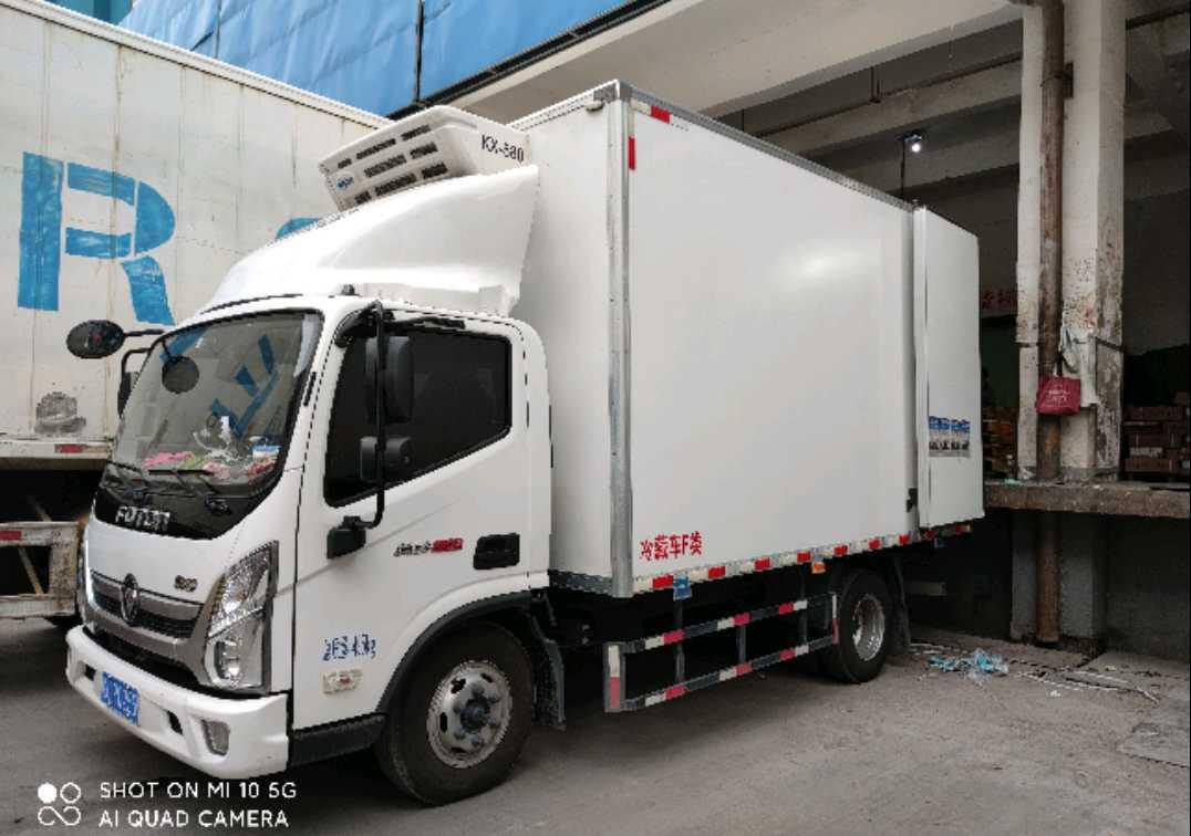 福田欧曼其他车系 冷藏车  158匹 2021年01月 4x2