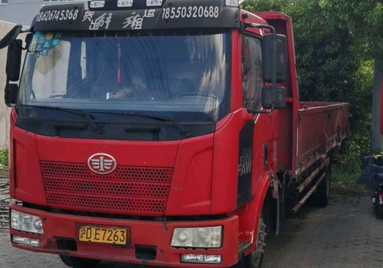 一汽解放J6L中卡 标载型 载货车  160匹 2015年03月 4x2