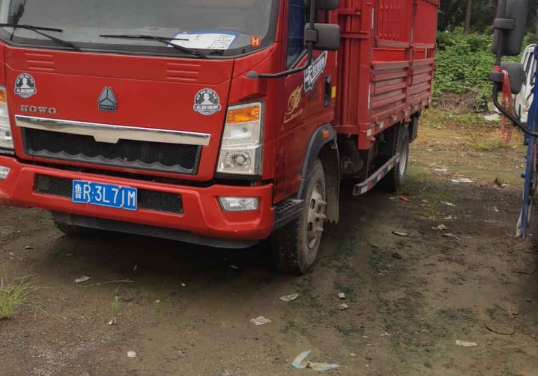 中国重汽HOWO 载货车  170匹 2018年04月 6x6