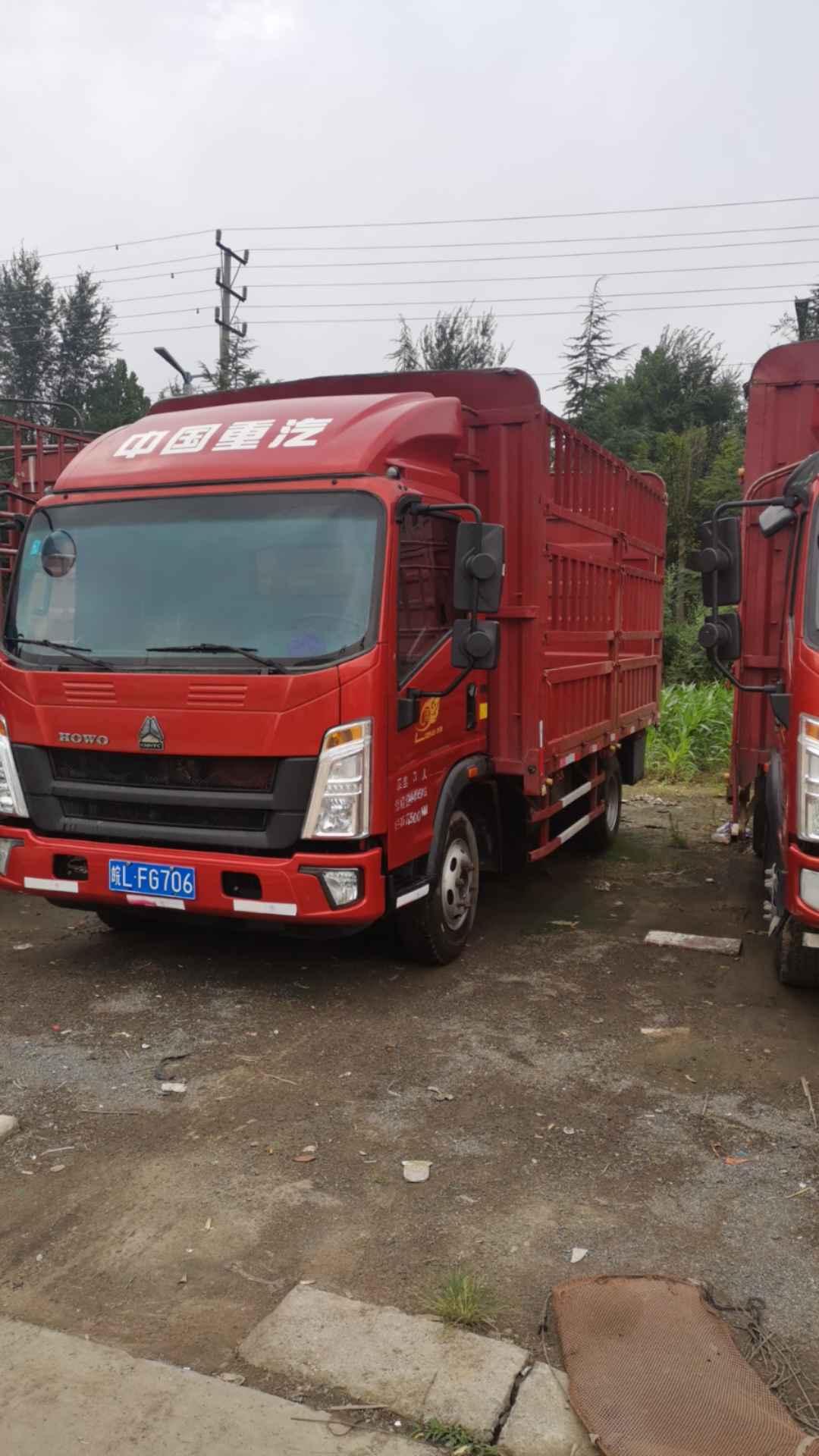 中国重汽HOWO 载货车  170匹 2020年07月 8x2