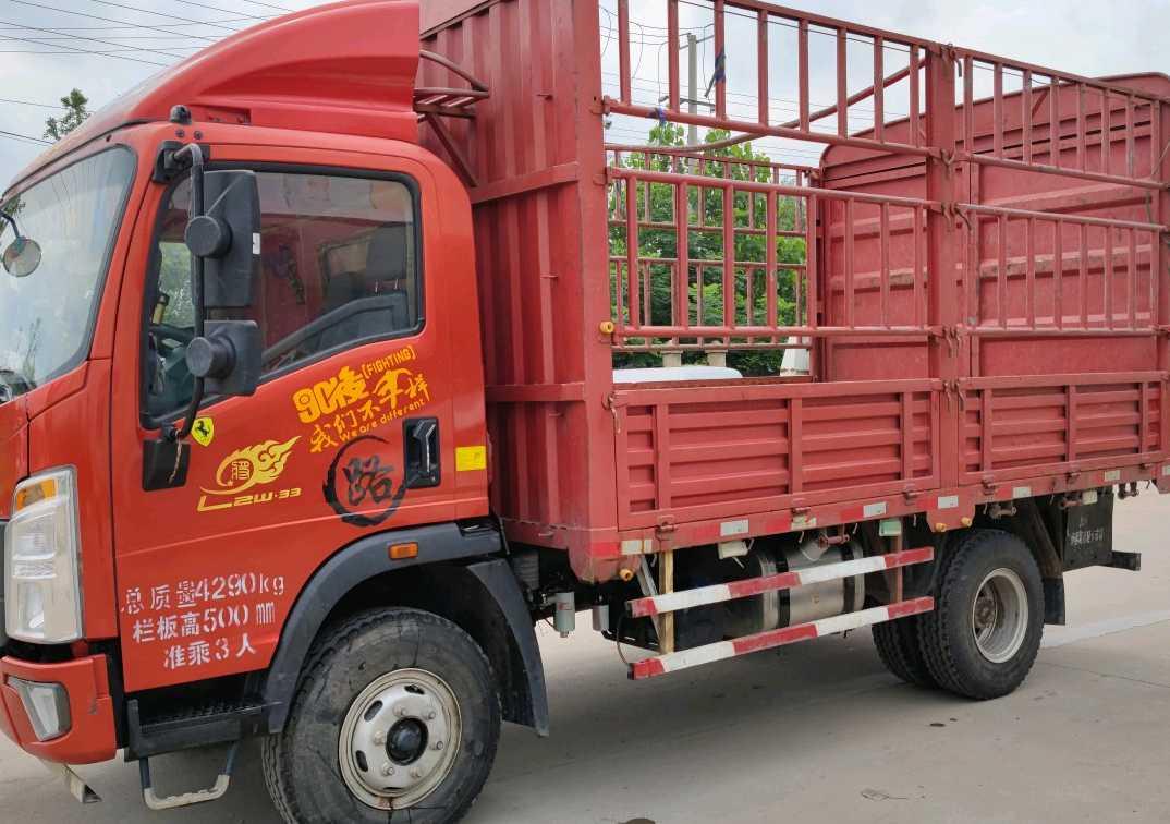中国重汽HOWO 载货车  170匹 2020年01月 4x2