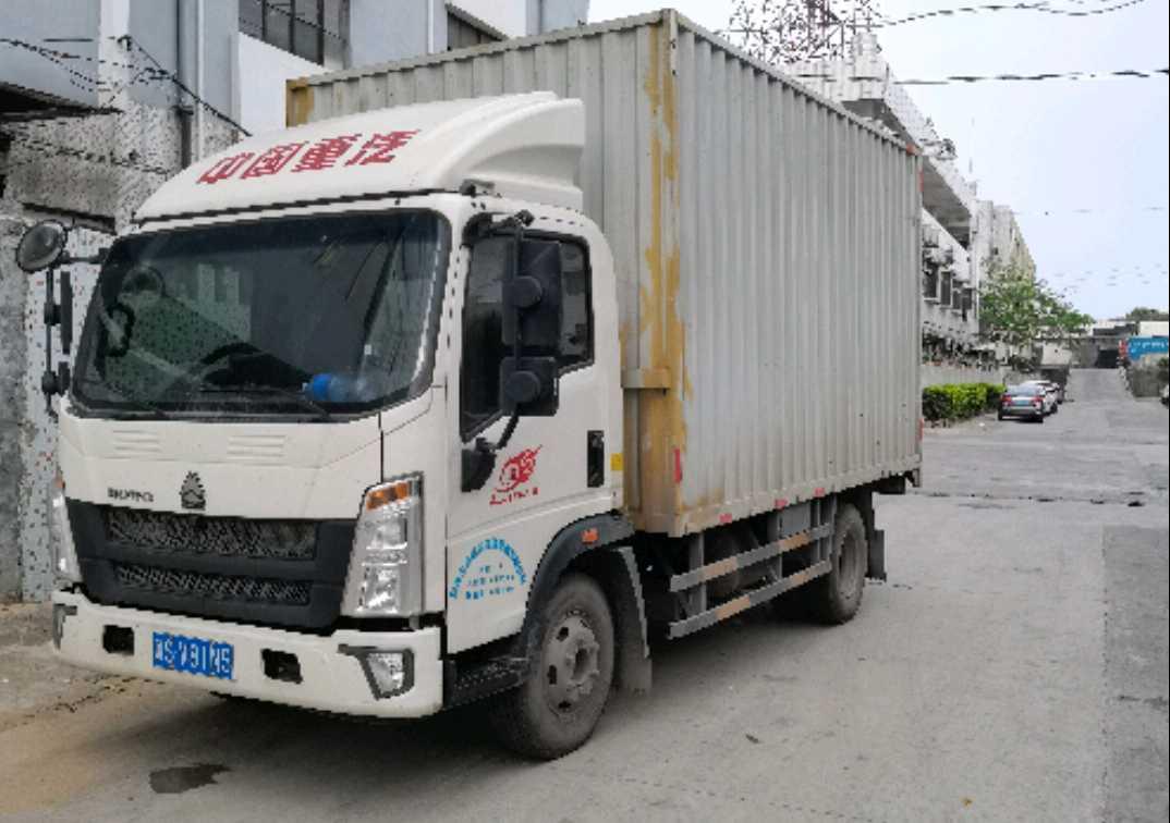 中国重汽HOWO 载货车  160匹 2020年06月 4x2