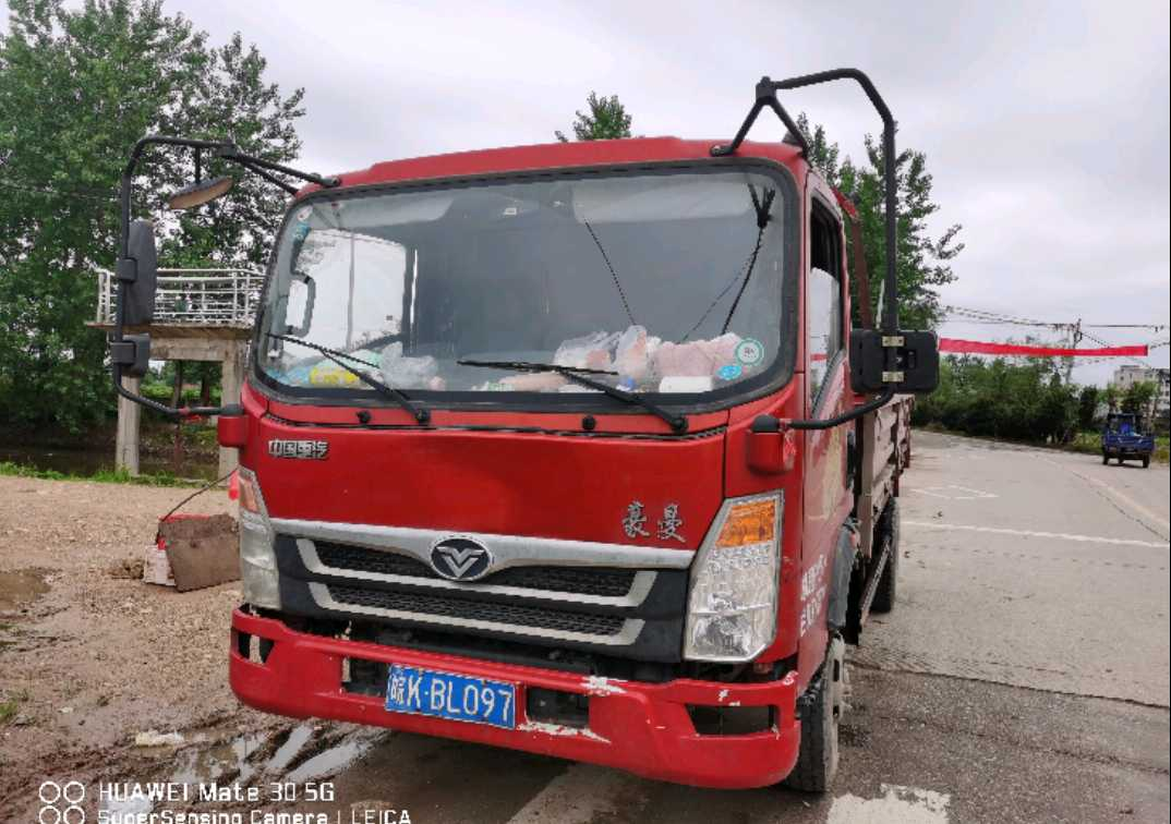 中国重汽豪曼 载货车  160匹 2020年08月 4x2