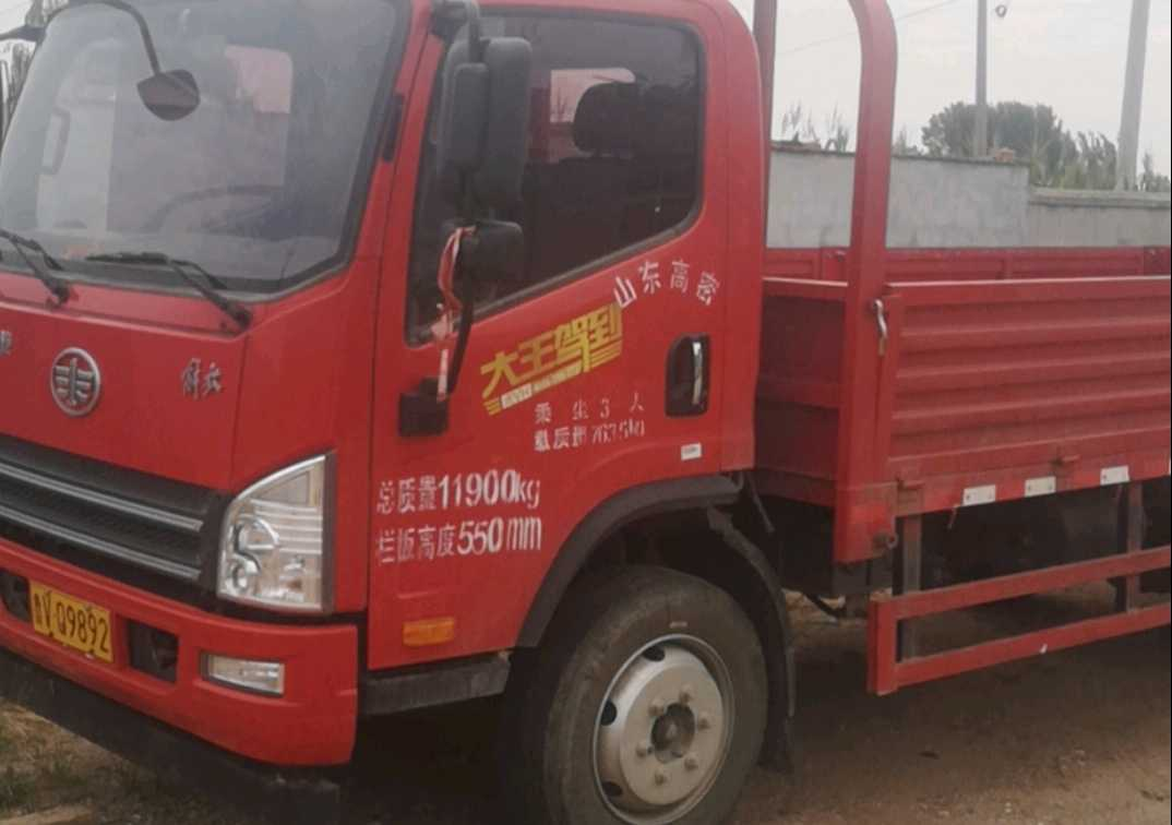 一汽解放J6P重卡 标载型 载货车  160匹 2020年09月 4x2